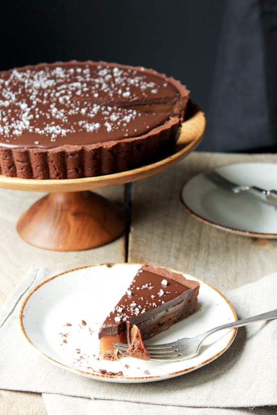 The Every Hostess - Salted Caramel Chocolate Tart - The Every Hostess
